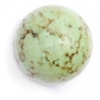 Semi-Precious 12mm Round China Stabilized Turquoise